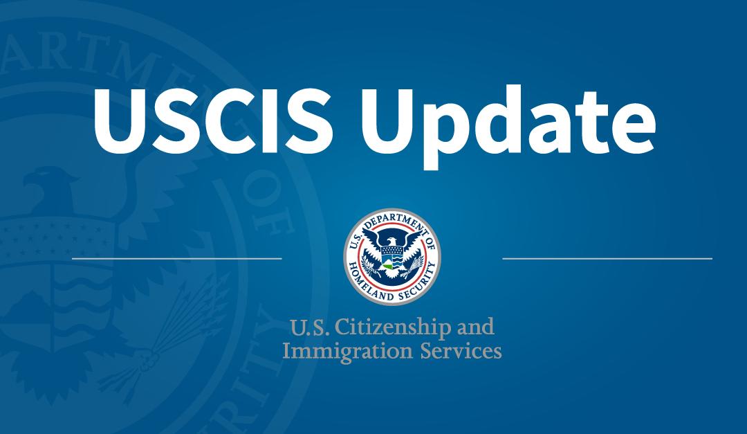 Newest USCIS Guidances
